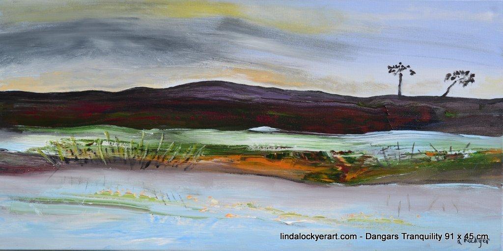 'Dangar's Tranquility' 91 x 45 cm